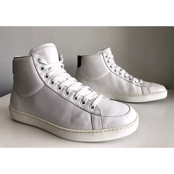 bb02924d359 Gucci Other - GUCCI MEN SUPREME HIGH TOP LEATHER SNEAKERS US 7